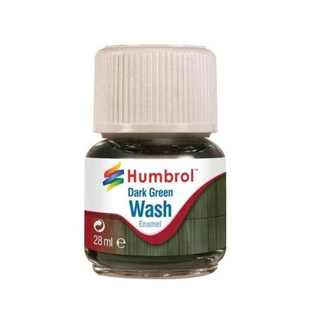 Enamel Wash Dark Green
