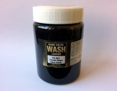 Game Color Wash  Black 73301